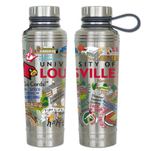 Load image into Gallery viewer, Louisville, University of Collegiate Thermal Bottle - catstudio