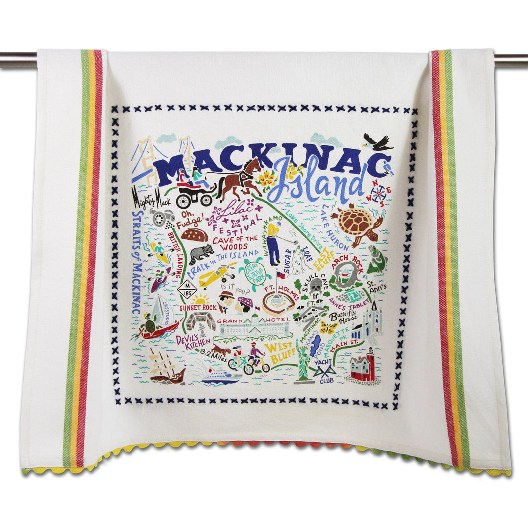 Mackinac Island Dish Towel - catstudio