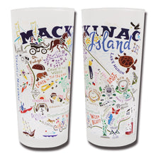 Load image into Gallery viewer, Mackinac Island Drinking Glass - catstudio