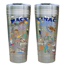 Load image into Gallery viewer, Mackinac Island Thermal Tumbler (Set of 4) - PREORDER Thermal Tumbler catstudio