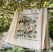 Load image into Gallery viewer, Maine Dish Towel - catstudio
