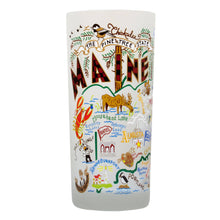 Load image into Gallery viewer, Maine Drinking Glass - catstudio