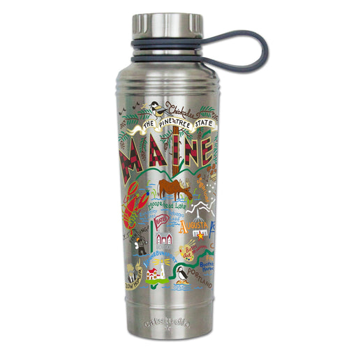 Maine Thermal Bottle Thermal Bottle catstudio