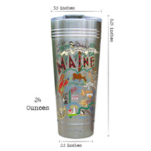 Load image into Gallery viewer, Maine Thermal Tumbler (Set of 4) - PREORDER Thermal Tumbler catstudio