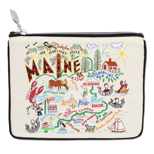 Maine Zip Pouch - Coming Soon! - catstudio