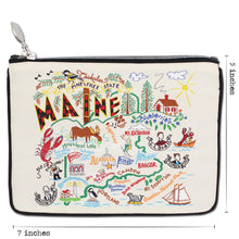 Load image into Gallery viewer, Maine Zip Pouch - Coming Soon! - catstudio