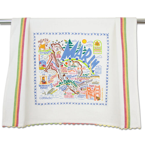 Marin County Dish Towel - catstudio