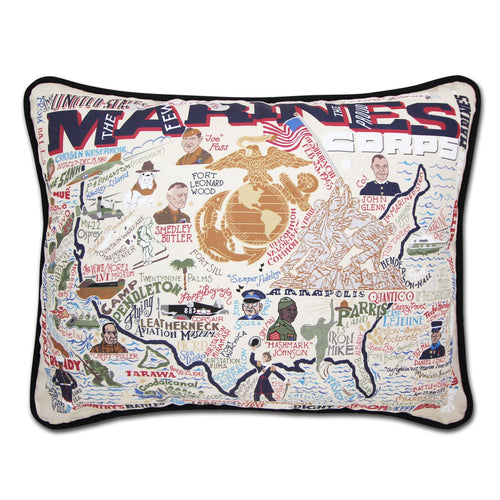 Marines Printed Pillow - catstudio
