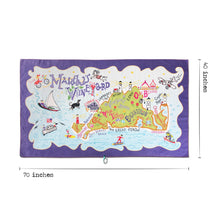 Load image into Gallery viewer, Martha's Vineyard Beach & Travel Towel Beach & Travel Towels catstudio