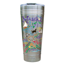 Load image into Gallery viewer, Martha's Vineyard Thermal Tumbler (Set of 4) - PREORDER Thermal Tumbler catstudio