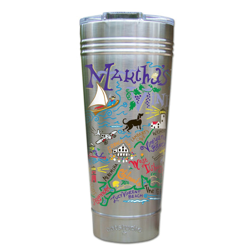 Martha's Vineyard Thermal Tumbler (Set of 4) - PREORDER Thermal Tumbler catstudio