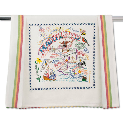 Maryland Dish Towel - catstudio