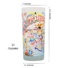 Load image into Gallery viewer, Maryland Drinking Glass - catstudio