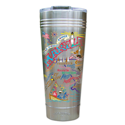Maryland Thermal Tumbler (Set of 4) - PREORDER Thermal Tumbler catstudio