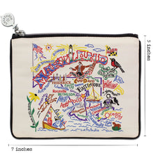 Load image into Gallery viewer, Maryland Zip Pouch - Natural - catstudio