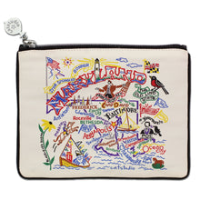 Load image into Gallery viewer, Maryland Zip Pouch - Natural Pouch catstudio