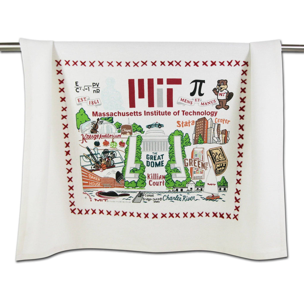 Massachusetts Institute of Technology (MIT) Collegiate Dish Towel - Coming Soon! - catstudio