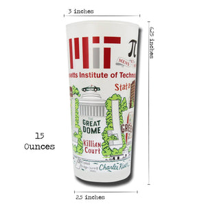 Massachusetts Institute of Technology (MIT) Collegiate Drinking Glass - Coming Soon! - catstudio