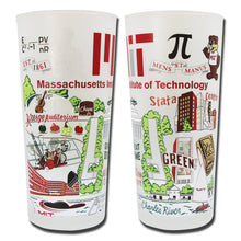 Load image into Gallery viewer, Massachusetts Institute of Technology (MIT) Collegiate Drinking Glass - Coming Soon! - catstudio