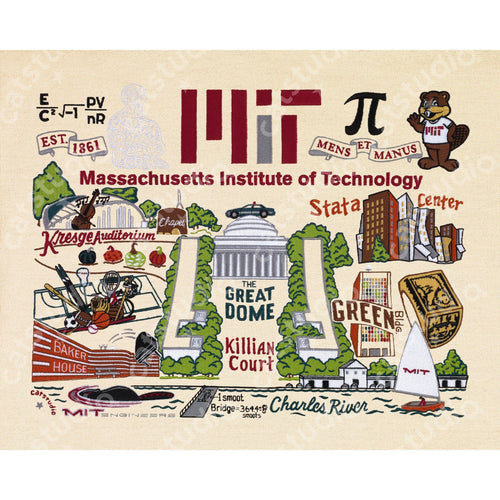 Massachusetts Institute of Technology (MIT) Collegiate Fine Art Print - catstudio