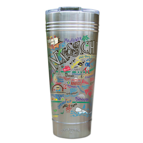 Massachusetts Thermal Tumbler (Set of 4) - PREORDER Thermal Tumbler catstudio