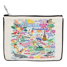 Load image into Gallery viewer, Maui Zip Pouch - Natural - catstudio