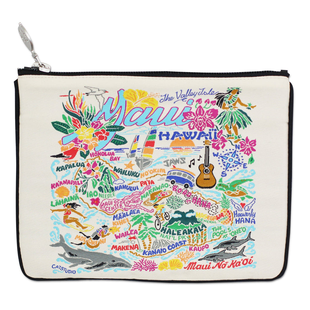 Maui Zip Pouch - Natural - catstudio