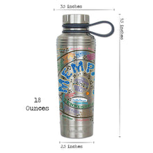 Load image into Gallery viewer, Memphis Thermal Bottle - catstudio