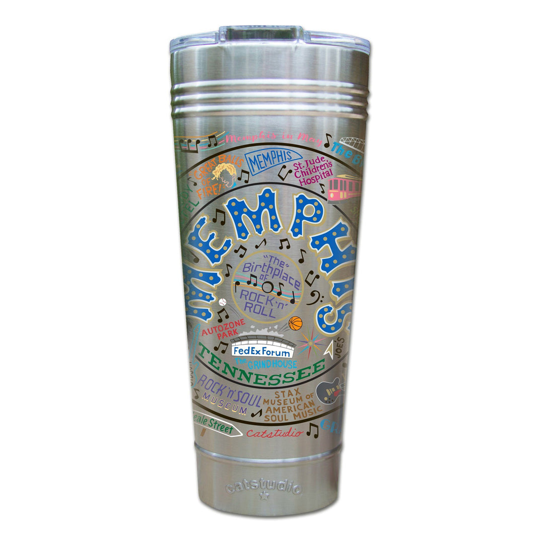 Memphis Thermal Tumbler (Set of 4) - PREORDER Thermal Tumbler catstudio