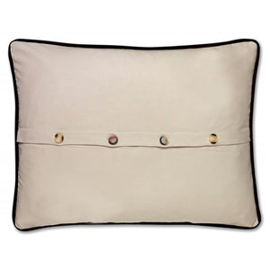 Mexico Hand-Embroidered Pillow Pillow catstudio