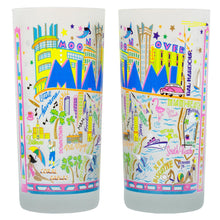 Load image into Gallery viewer, Miami Drinking Glass - catstudio