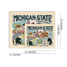 Load image into Gallery viewer, Michigan State University Collegiate Fine Art Print - catstudio