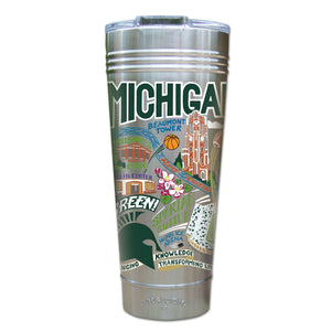 Michigan State University Collegiate Thermal Tumbler (Set of 4) - PREORDER Thermal Tumbler catstudio