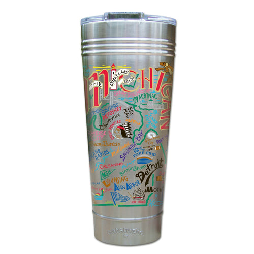 Michigan Thermal Tumbler (Set of 4) - PREORDER Thermal Tumbler catstudio