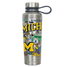 Load image into Gallery viewer, Michigan, University of Collegiate Thermal Bottle - catstudio