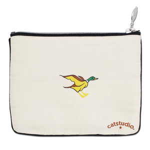 Michigan Zip Pouch - Natural Pouch catstudio
