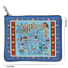 Load image into Gallery viewer, Michigan Zip Pouch - catstudio