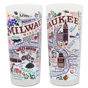 Milwaukee Drinking Glass Glass catstudio