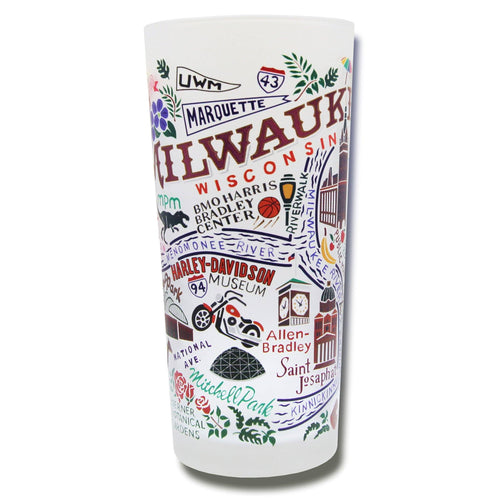 Milwaukee Drinking Glass - catstudio