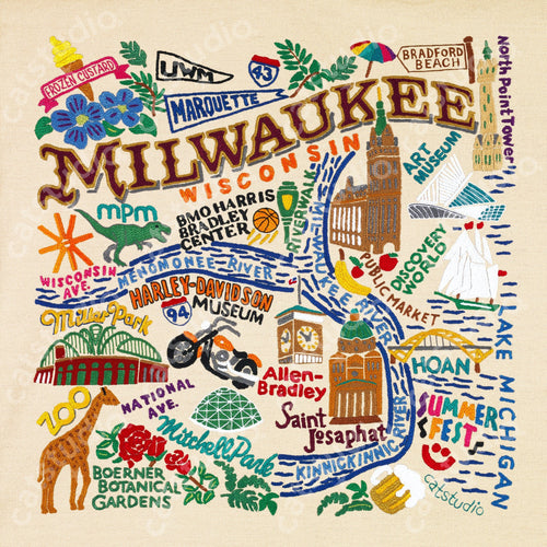 Milwaukee Fine Art Print - catstudio