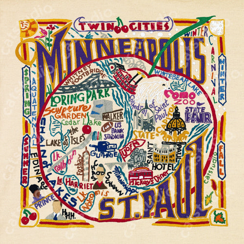 Minneapolis-St. Paul Fine Art Print - catstudio