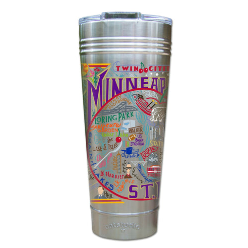 Minneapolis-St. Paul Thermal Tumbler (Set of 4) - PREORDER Thermal Tumbler catstudio