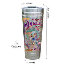 Load image into Gallery viewer, Minneapolis-St. Paul Thermal Tumbler (Set of 4) - PREORDER Thermal Tumbler catstudio