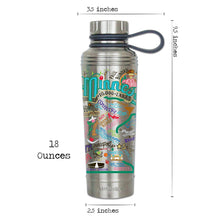 Load image into Gallery viewer, Minnesota Thermal Bottle - catstudio