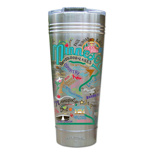 Minnesota Thermal Tumbler (Set of 4) - PREORDER Thermal Tumbler catstudio