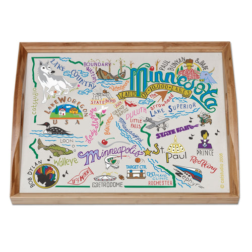 Minnesota Tray - catstudio