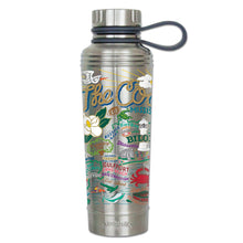 Load image into Gallery viewer, Mississippi Coast Thermal Bottle - catstudio