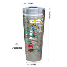 Load image into Gallery viewer, Mississippi Coast Thermal Tumbler (Set of 4) - PREORDER Thermal Tumbler catstudio