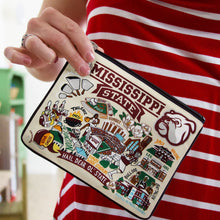 Load image into Gallery viewer, Mississippi State University Collegiate Pouch Pouch catstudio