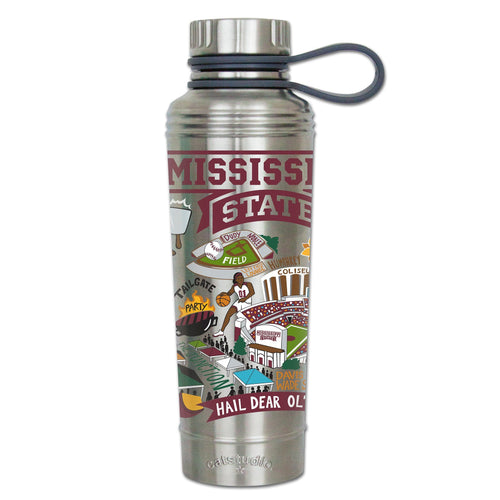 Mississippi State University Collegiate Thermal Bottle - catstudio